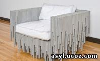 мебель из трубок