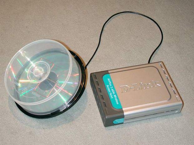 Сделай сам wi-fi антенну из упаковки для CD-ROM