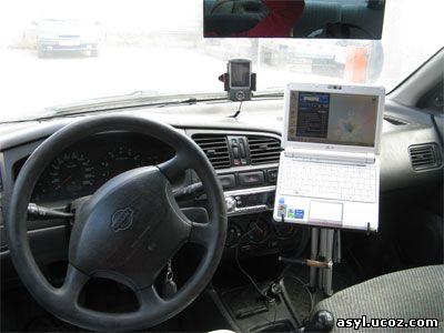 Как сделать держатель ноутбука в автомобиле