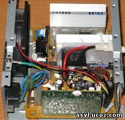 Монтаж реле и остальной схемы зарядного устройства