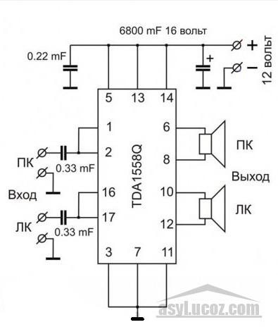 Самодельные колонки для телефона (схема)