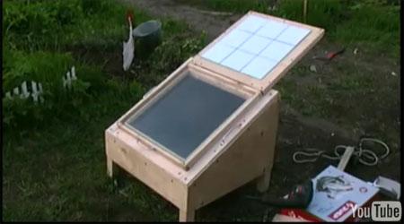 Солнечная печь своими руками (+ видео инструкция)