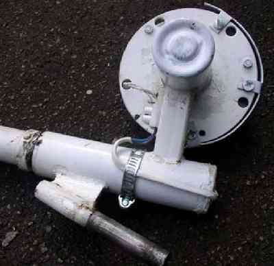 Подшипниковый узел самодельного РЗМ генератора