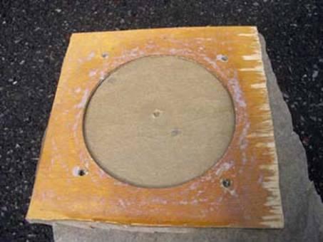 Форма для отливки статора генератора