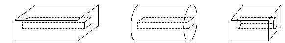 Расчет постоянных магнитов симметричной формы