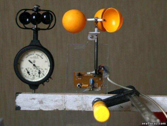Как сделать анемометр