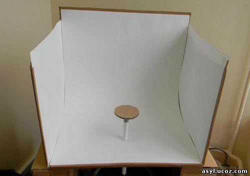 поворотный столик для преметной съемки