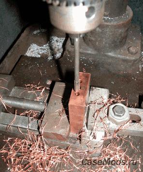Делаем теплосъёмник на тепловых трубках сами.