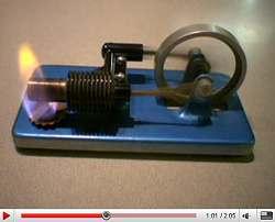 Самодельный двигатель Стирлинга