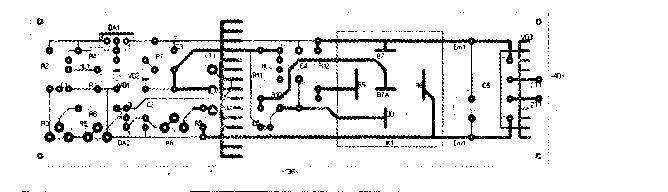 Схема регулятора подачи