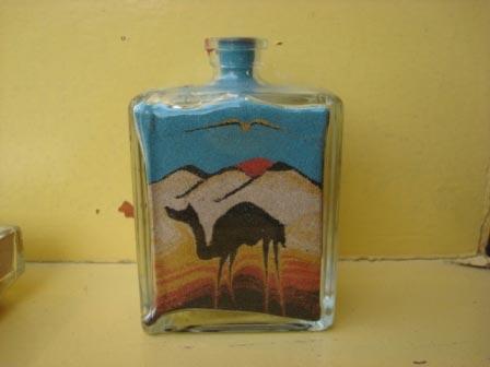картина из цветного песка