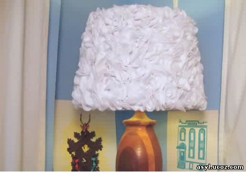 Декорирование лампы