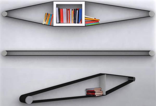 резиновая полочка для книг