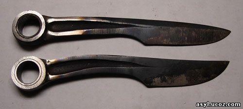 Сделать нож своими руками